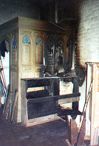 The fire in the Vestry